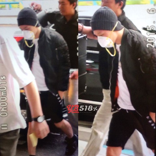 Big Bang - Gimpo Airport - 05jun2015 - Tae Yang - YB 518 - 01