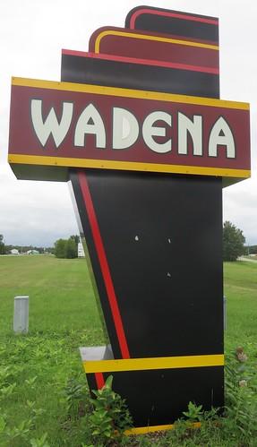 minnesota mn wadenacounty wadena citywelcomesigns