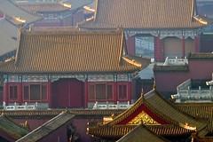 Alter Kaiserpalast in der Verbotenen Stadt in Peking. Foto: Bruno Baumann.
