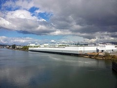 Boeing plant on the Duwamish river