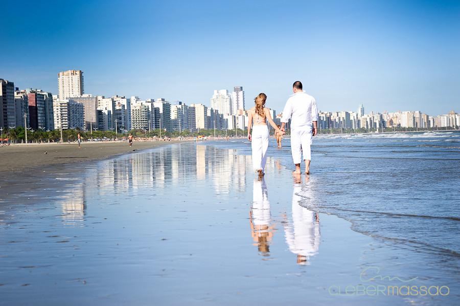 Lais e Diego E-session na praia de Santos-28
