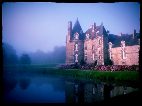 Château in the fog