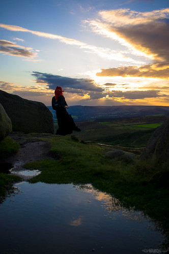 Sunset at Higger Tor // 29 08 12