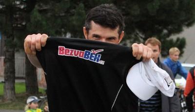 Tomasz Wróbel vítězí v závodě Palkovice - Kubánkov - Palkovice