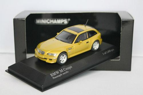 Minichamps 1/43 BMW M Coupe 2001 Phoenix Yellow Metallic 400029060