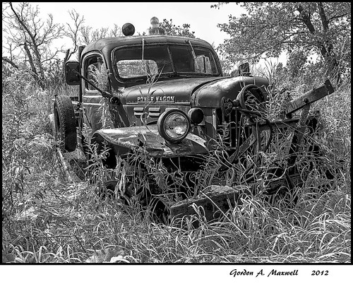 Power Wagon B&W