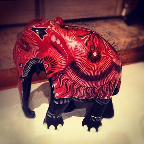 Éléphant ! #elephant #statue #alsace !