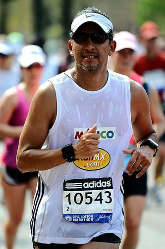Maratón de Boston 2012 - RunMX (Jesús Ayala)