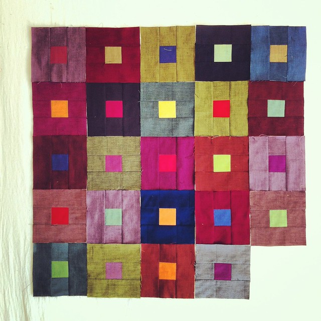 City lights quilt