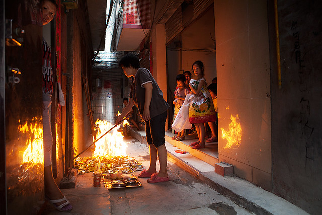 Ghost Festival, China, 2012