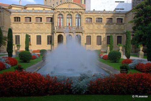 Jardines del Palacio de Navarra (la Diputación)