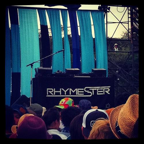 サンセットライブのライムスター、最高でした。