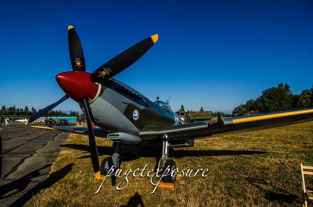 Historic Flight Foundation Supermarine 361 Spitfire LF.IXe