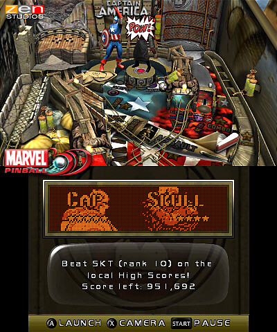 Marvel Pinball 3D - 1