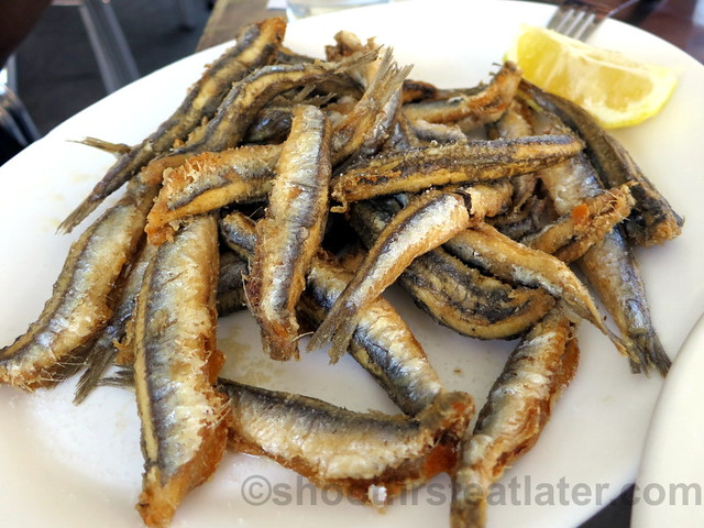 Boquerones Fritos (fried anchovies)  €8