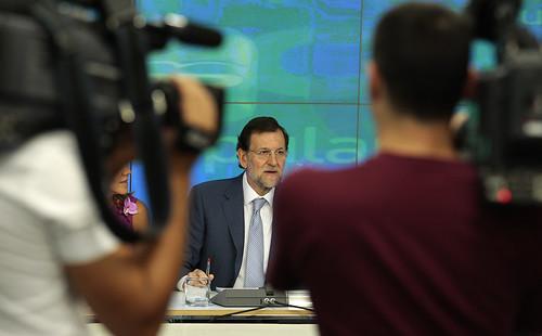 Rajoy en un acto del PP