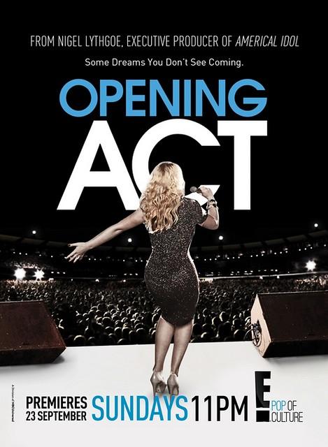 E! Opening Act Keyart