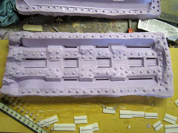 Spinfusor Rail Mold Half