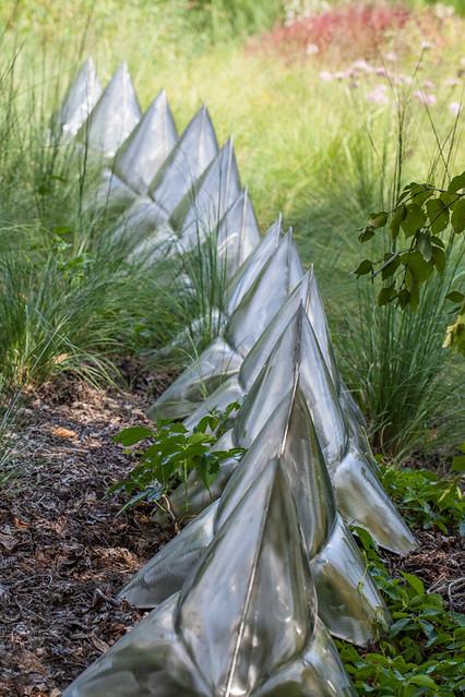 Expanding Sculpture, Olbrich Gardens, Madison Wisconsin