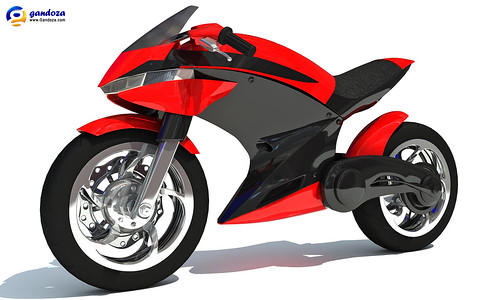 Sport Bike Concept by Gandoza