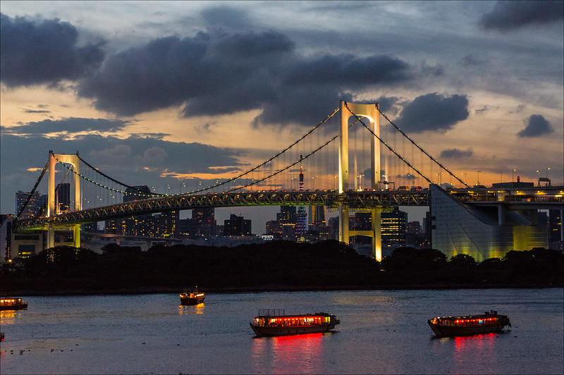 Rainbow Bridge en Odaiba