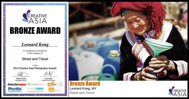 Creative Asia Award @ Mongkok, HongKong , 2012