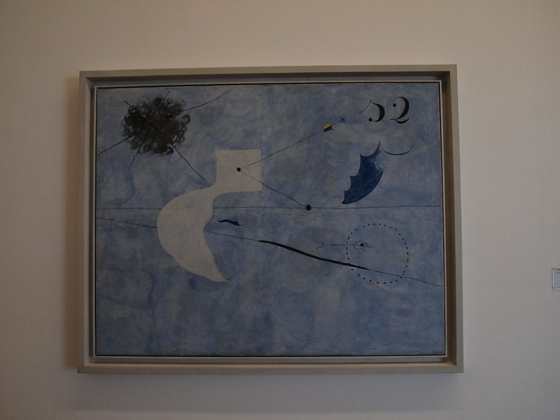 Joan Miró - Bleus