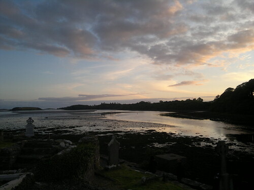 ireland sunset n8 donegal theoldabbey