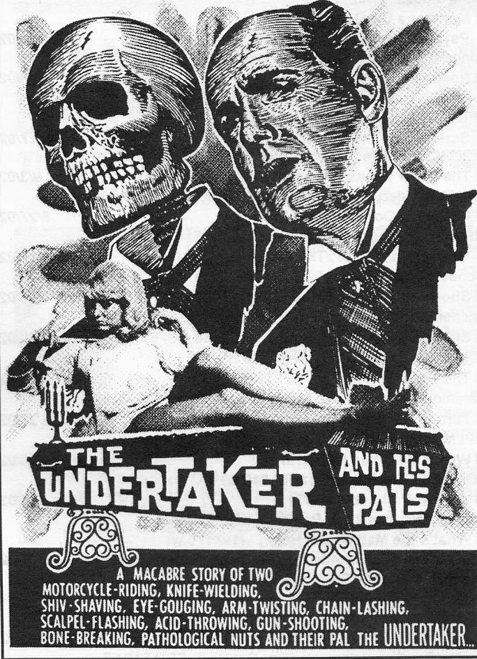 Black and white movie posters