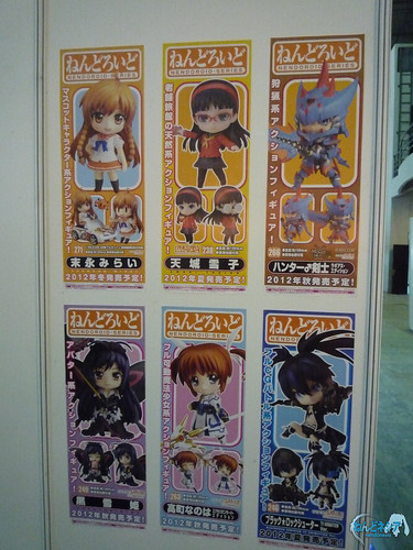 Posters of new and upcoming Nendoroid!