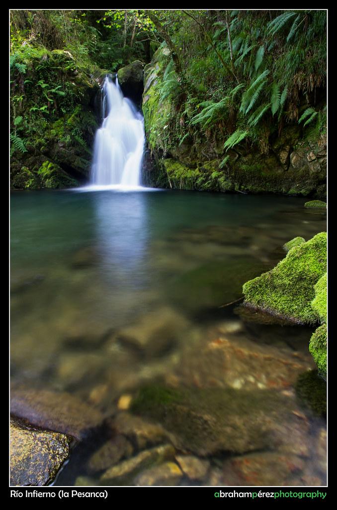 Cascada en La Pesanca