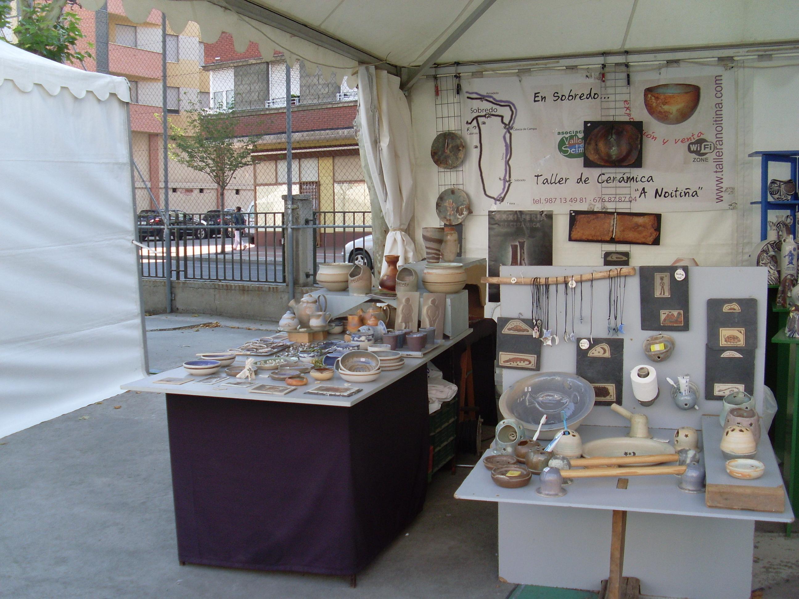 XXXI Feria de Cerámica de Ponferrada 2012