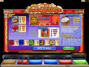 free House of Dragons slot payout