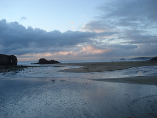 Evening At Perranporth