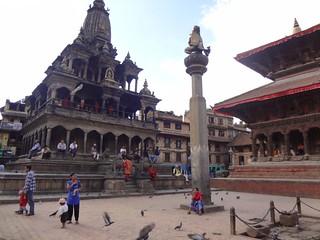 Praça Durbar em Patan Nepal