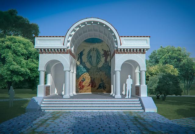 Asezamant Pantocrator - Altar Transfigurarea