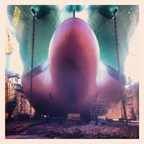 #LNG #SOKOTO #drydocked @ #damenshiprepair. by Team MaPiTo | Location scouts & Location managers