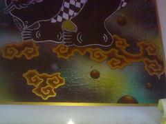 lukisan kaca semar