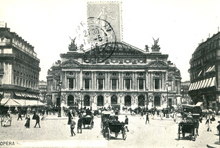 Paris - Opéra (1906 Postcard)