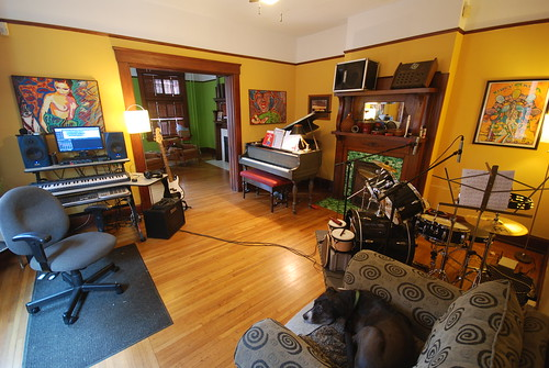Wood Floor Or Carpet In Recording Studio Vidalondon