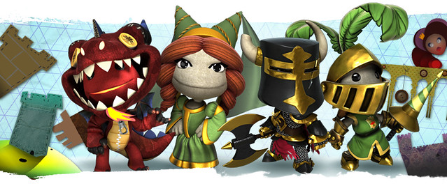 LittleBigPlanet PS Vita: Knights Of Old