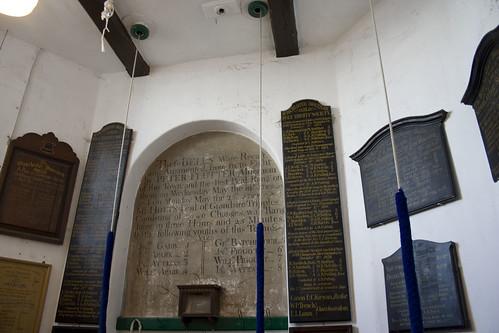 Commemorative bell ringing