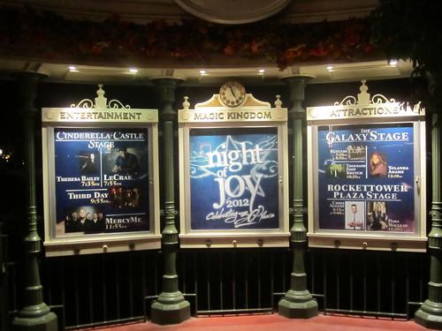 Night of Joy Times Information