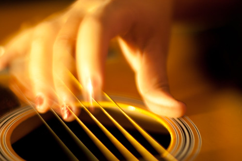 Music in motion and stillness
