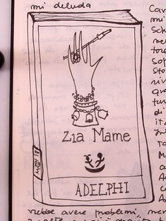 draw what your read - Zia Mame
