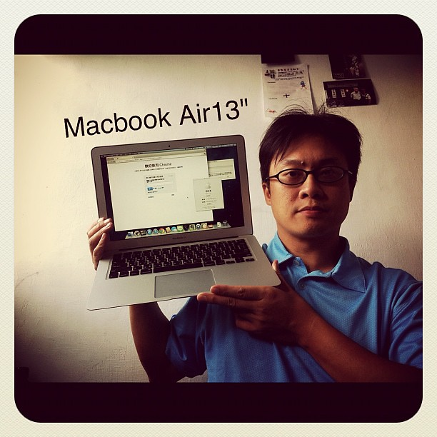 "新玩具MacBook Air 13""入手"