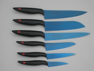 Couteaux japonais Kasumi Titanium - HMDiffusion