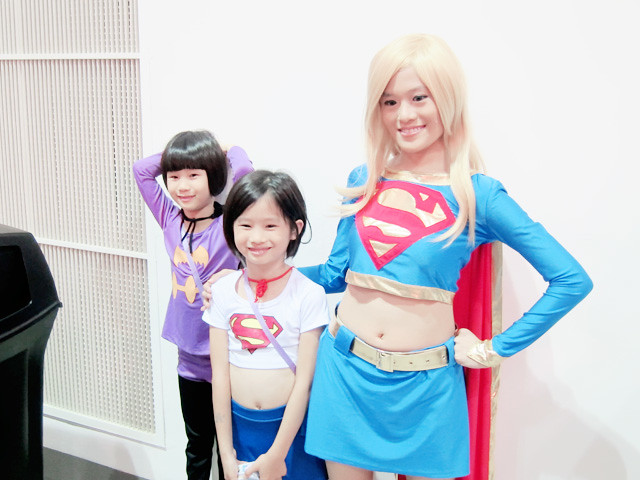 cute kids at stgcc