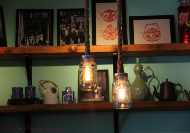 Teakha lights by Chic n Cheap Living