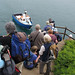 Embarking the boat at Skomer (Barry Oxley)